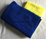 Microfiberタオルかクリーニングのタオルまたは布