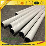Aluminiumprofil-rundes Rohr des strangpresßling-6063 T5 mit kundenspezifischer Oberfläche