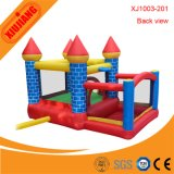 Замок игры напольных детей мягкий раздувной для рождественской вечеринки