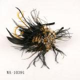 Plume molle avec le bandeau de diamant (WA-10391)