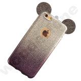 Diseño barato del conejo de Witn de la caja del teléfono del precio de fábrica TPU