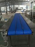 Convoyeur modulaire en plastique réglable de plaque plate de vitesse