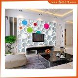 Peinture à l'huile décorative multicolore mur d'habitation
