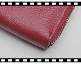 ジッパー機構の機能柔らかい革女性を妨げるWrist Wallet RFID