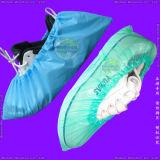 Wasserdichte chirurgische/Medical/Hospital/Plastic/Polyethylene/Poly/HDPE/LDPE/PP+PE/PP/SMS/Polypropylene nichtgewebte wegwerfbare PET Schuh-Abdeckung, wegwerfbare CPEOvershoes
