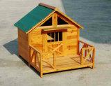خارجيّة خشبيّة أثاث لازم منزل لأنّ كلب محبوب