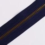 Do Zipper de bronze do metal do Zipper 5# do no. 5 corrente longa