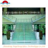 Cancelar o vidro laminado Tempered colorido para o assoalho e as escadas