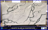 Baumaterial Calacatta Dekoration-Quarz-Farben