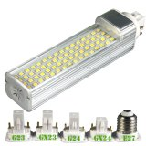 luces del G-24 del enchufe LED de 9W 2835 SMD 52LEDs