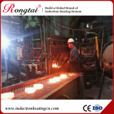 Chaîne de production de fréquence moyenne en acier carrée de chauffage par induction