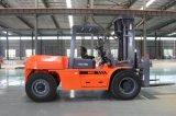 10 Diesel van de ton Vorkheftruck met Triplex Mast van 6m