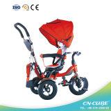Новый роскошный трицикл младенца игрушки ребенка 2016