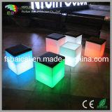 LEDの立方体の椅子/ナイトクラブの家具/棒椅子を変更するカラー
