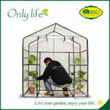 Onlylife 4層PVC折りたたみ経済的な小型温室