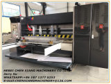 Máquina que ranura y que corta con tintas de la impresión acanalada automática de 4 colores Cx-1200