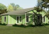 Casa prefabricada fácil del aislamiento de calor del bajo costo de la construcción (XGZ-01087)