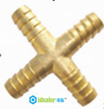 Guarnición neumática apropiada de cobre amarillo con CE/SGS (HHZA04)