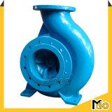 Bomba de água horizontal centrífuga do impulsor do fim do ferro de molde