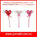 Flor de la tarjeta del día de San Valentín de la decoración del amor de la boda de la decoración de la tarjeta del día de San Valentín (ZY13L919-1-2-3)