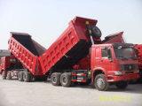 Sinotruk 290HP/336HP/371HP 25tons HOWO 6X4 덤프 트럭 (ZZ3257M3241M)