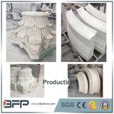 Colonna mezza naturale smerigliatrice Polished/elegante della colonna del granito e del marmo