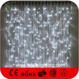 شلال [لد] ستار أضواء لأنّ عيد ميلاد المسيح زخارف