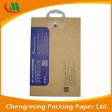 Cmyk Drucken-kundenspezifische ausgeglichene Glaspapier-verpackenkästen