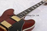 웅대한 음악/관례 Es335 전기 재즈 기타 (TJ-224)