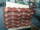 Anti-Verblassen die überzogene Metalldach-Steinfliese, die in Linyi hergestellt wird