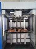 Machine se plissante de empaquetage de découpage de carton avec éliminer