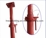 apoyo de acero de Ajustable del apuntalamiento del andamio de la construcción de 2000-3600m m