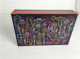 Красивейшая прикрепленная на петлях коробка для упаковывать подарка
