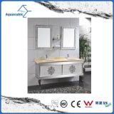 Mobilia classica della stanza da bagno dell'acciaio inossidabile di stile della mobilia moderna del Brown