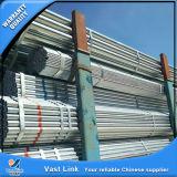 Tubos de acero galvanizados roscados vendedores calientes para el agua