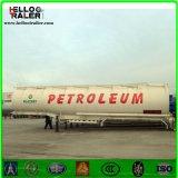 Chino 45000 litros 3 del árbol de petrolero del carro de acoplado de gasolina y aceite semi para la venta