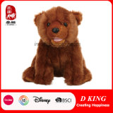 Urso enchido do brinquedo dos miúdos do animal selvagem luxuoso macio
