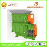 Déchiqueteuse à arbre simple approuvée SGS pour le recyclage des ordures ménagères