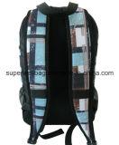 Sac polychrome mélangé de sac à dos d'impression