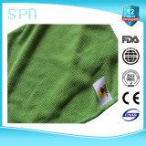 OEM sua toalha de limpeza de Microfiber do tipo/logotipo