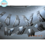 鋼鉄/アルミニウムアルミニウムAgrセグメント固体タイヤのタイヤ型