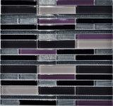 mosaico de cristal del cuarto de baño del color de la mezcla 30X30, azulejo de cristal