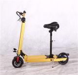 Mini E-Bici eléctrica plegable de gran alcance y colorida de Scooterlithium de dos ruedas