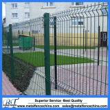 PVC上塗を施してある金属の庭の網の塀のパネル