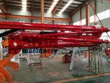 世界R/4つの形アームブームが付いている最初23mのくものトレーラーの移動式具体的な置くブーム