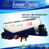 3 차축 30t Low Density Bulk Cement Tank Semi Truck Trailer (W 유형) 73m³ (LAT9408GFL)