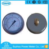 indicateur de pression rempli d'huile de connexion arrière de la barre 0-1000 de 60mm