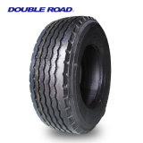 Pneumático radial grande do caminhão da profundidade de passo do pneu do tipo da fábrica do pneu em linha