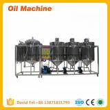 Mini macchina di raffinamento dell'olio di arachide della pianta della raffineria di petrolio della soia di alta qualità