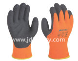Gant de travail de l'hiver de mousse de latex enduit (LY2035) (CE RECONNU)